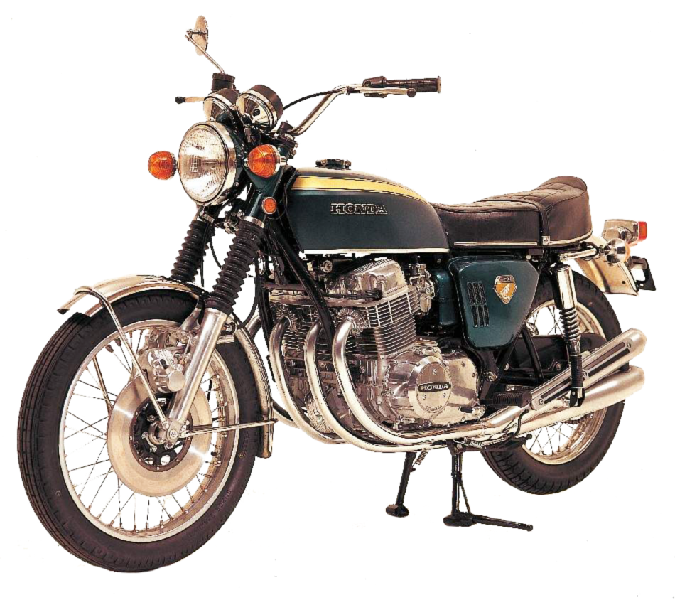 Illustration moto marron